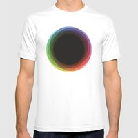 Fig. 039 - Circles Mens Fitted Tee White SMALL