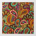 Basic Paisley  Canvas Print