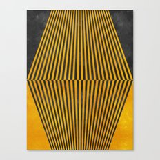 Geometric Soul Mates Canvas Print