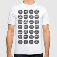 Colorplay_Goshquotes by Rachel & Garima Mens Fitted Tee Ash Grey SMALL