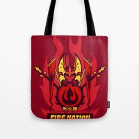 Avatar Nations Series - Fire Nation Tote Bag