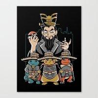 Big Trouble In Little Ka… Canvas Print