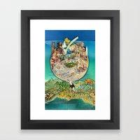 World In Harmony Framed Art Print