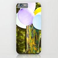 iPhone & iPod Case featuring Boot And Balloons by mark jones