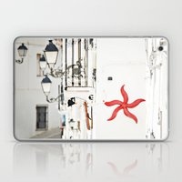 white&red mediterráneo Laptop & iPad Skin