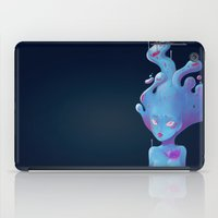 Sad Slime Girl iPad Case