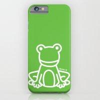 Green Frog iPhone 6 Slim Case