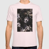 Wood Woman Mens Fitted Tee Light Pink SMALL