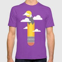 Mountains At My Fingerti… Mens Fitted Tee Ultraviolet SMALL