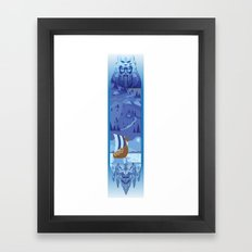 A Viking History Framed Art Print