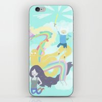 Time For An Adventure iPhone & iPod Skin