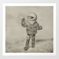 Starship Poopers. Art Print