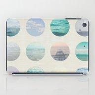 Ocean Polka Dot  iPad Case
