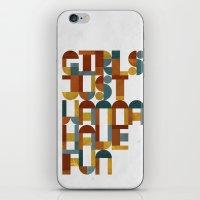 Girls Just Wanna Have Fu… iPhone & iPod Skin