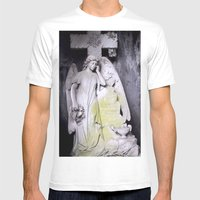 Blue angel Mens Fitted Tee White SMALL