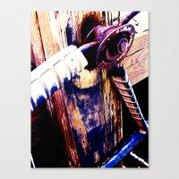 Wheel II Canvas Print