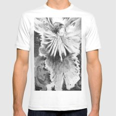 Grace in an Orchid White Mens Fitted Tee SMALL