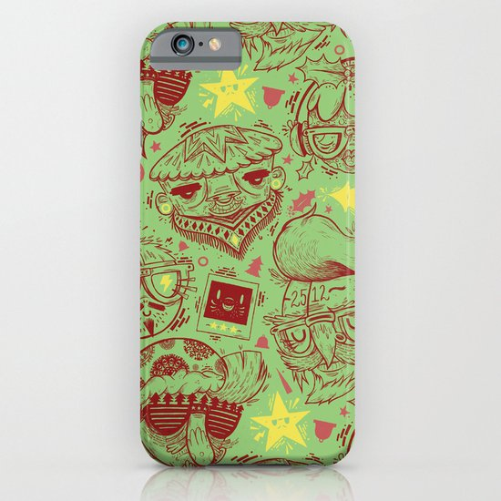 Have a Hipster Christmas! iPhone & iPod Case