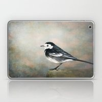Little Pied Wagtail Laptop & iPad Skin