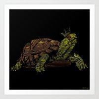 King Of The Turtles!  Art Print
