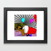 Whats In My Cup Framed Art Print