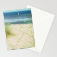Green Wisps Stationery Cards