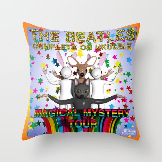 Magical Mystery Tour Throw Pillow