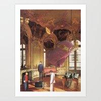 Hôtel Soubise Art Print