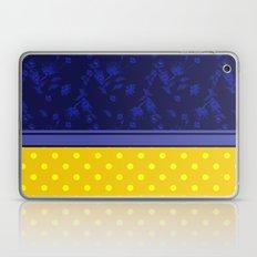 The yellow-blue combo pattern.  Laptop & iPad Skin