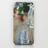 Wood Grain & Glasses  iPhone 6 Slim Case