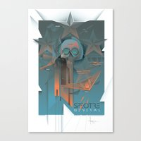 INSPECTRE GENERAL 2013 Canvas Print