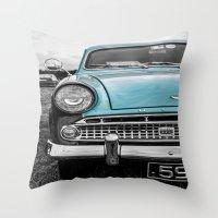 Hill 59 Throw Pillow
