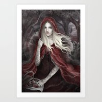 Red Riding Hood (Chapero… Art Print
