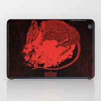 Decapitated by dishwasher III (red) iPad Case
