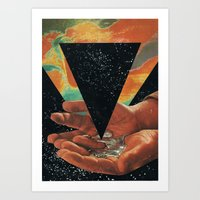Disruption Of His World… Art Print