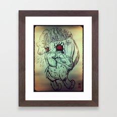 Feed Framed Art Print