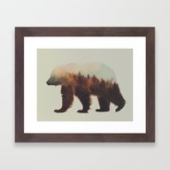 Norwegian Woods: The Bro… Framed Art Print