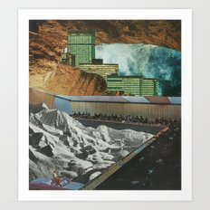 Strange Cities: A Theatre Within The Realm Of The Underworld Art Print
