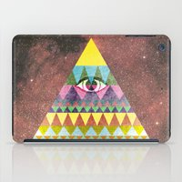 Pyramid in Space. iPad Case