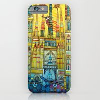 iPhone & iPod Case featuring CAT-HEDRAL by ALBENA
