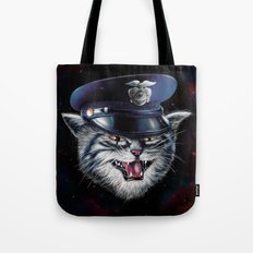 Police Cat Tote Bag