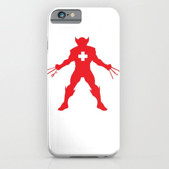 Weapon-Swiss iPhone & iPod Case