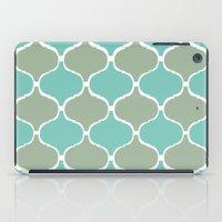 Marrakech Pattern Sea Green iPad Case