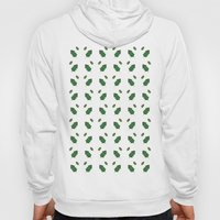 leaf pattern Hoody