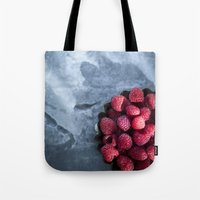 Red Raspberries - Yummy!… Tote Bag