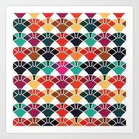 Patternplay Series - V1 Art Print