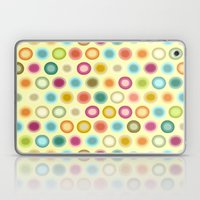polka creamy Laptop & iPad Skin