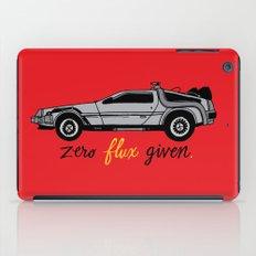 Zero Flux Given. iPad Case