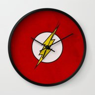 Flash Wall Clock