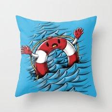 S O S !!! Throw Pillow